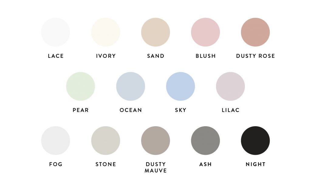 Paper Color Swatches