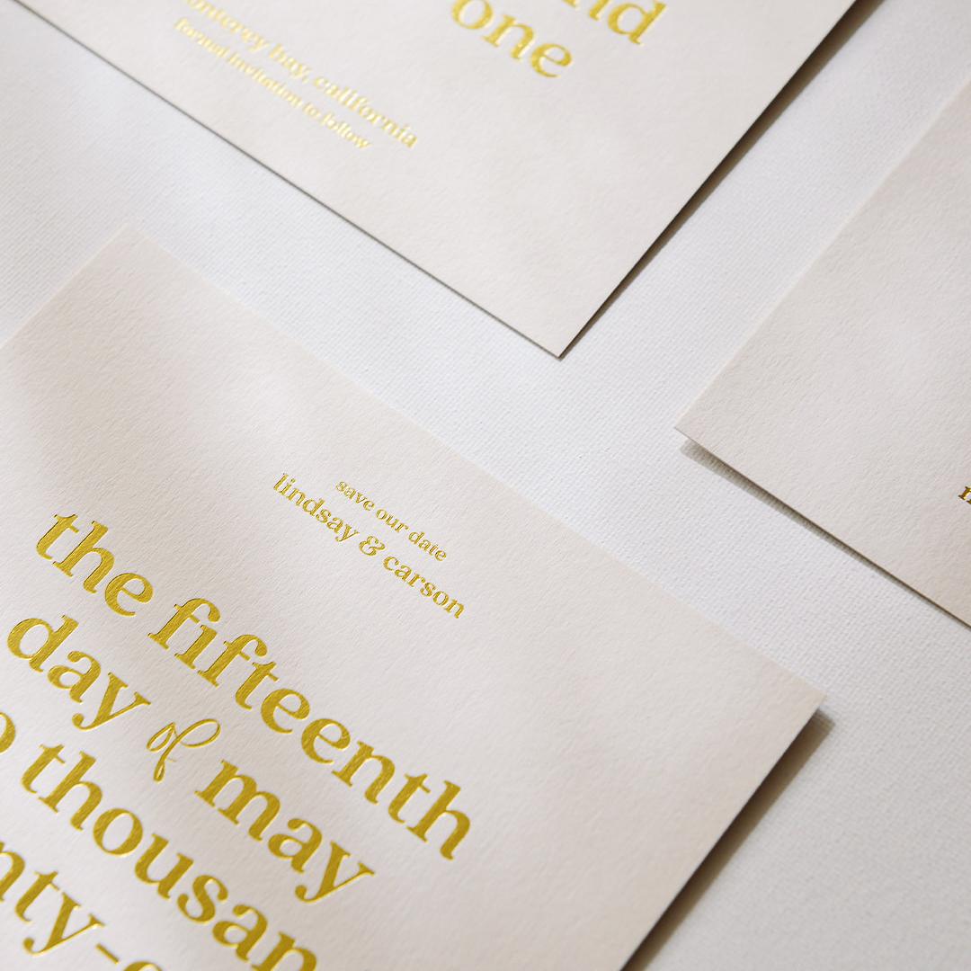 PaperCrush Luxury Modern Minimal Stationery Design