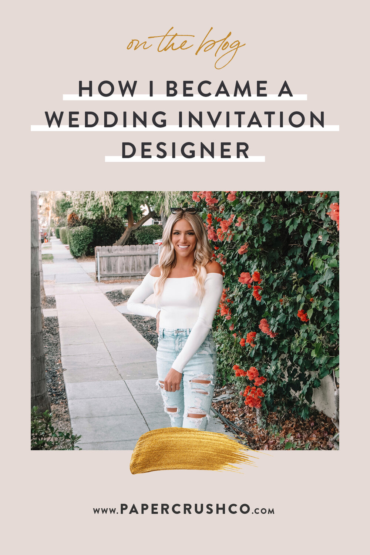 How I Became a Wedding Invitation Designer_Anissa_PaperCrush